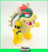 """4"""" Super Mario Brothers Action Figure Movable Figurine Bowser Koopa"""