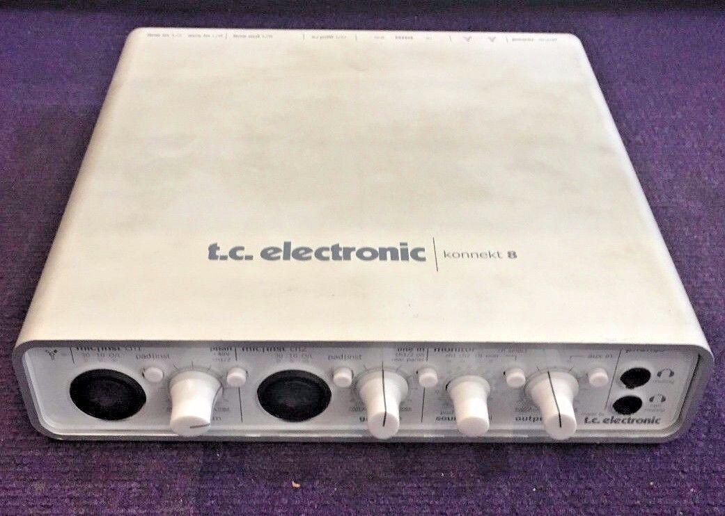 TC ELECTRONIC KONNEKT 8 AUDIO INTERFACE, USED