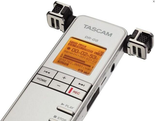 Tascam Dr 08 2048 Mb Handheld Digital Voice Recorder For Sale Online Ebay