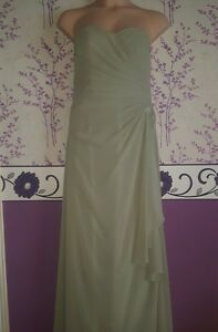 Green-celadon-long-dress-size-16-Colour-by-Kenneth-Winston-Private-Label