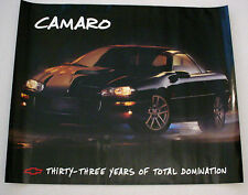 2000 CHEVROLET CAMARO  POSTER -  ORIGINAL - 2 SIDED