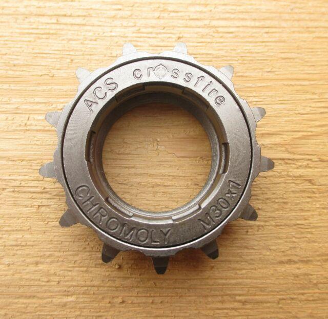 "ACS Bicycle Crossfire Freewheel 20T x 3//32/""  Single Gun Metal Bike"