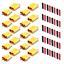 XT30-XT60-XT90-Hochstrom-Goldstecker-Buchse-Lipo-Akku-inkl-Schrumpfschlauch-RC Indexbild 1