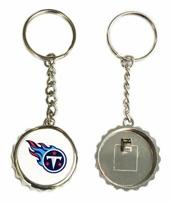 NFL Keychain with Bottle Opener