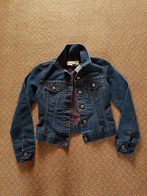 Warehouse denim jacket, size 8