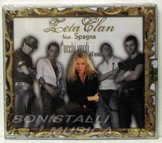 ZETA CLAN Feat. SPAGNA - GLI OCCHI VERDI - CD Singolo Sigillato