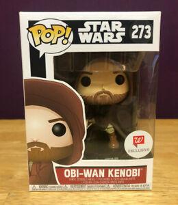 Walgreens EXCL Funko Pop Hooded #273 Obi-Wan Kenobi Star Wars