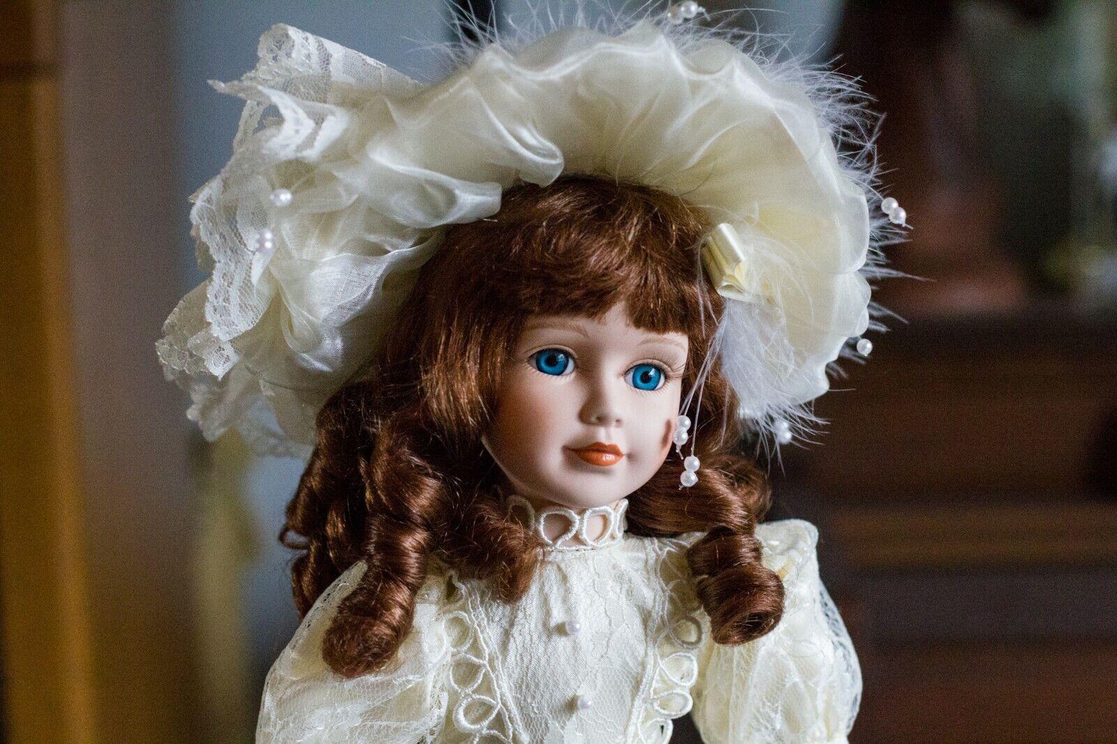 Beautiful, Sweet Gizelle - 18  bambola w  ste;  porcelain face & hes  consegna veloce e spedizione gratuita per tutti gli ordini