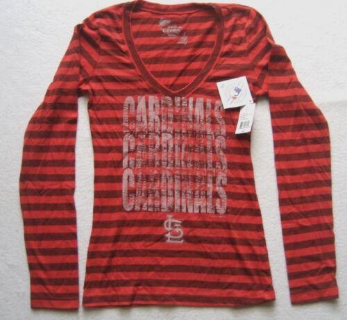 Striped da Ocean 5th Gr Camicia Red donna Sm New Cardinals Up8SZwx