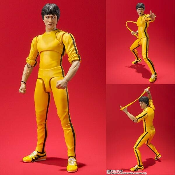 BRUCE LEE - SHF - YELLOW TRACK SUIT FIGURE