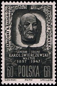 Polska Poland 1962 Fi 1170 Mi 1318 MNH 15 roczn. śmierci gen. K. Świerczewskiego - Antolka, Polska - Polska Poland 1962 Fi 1170 Mi 1318 MNH 15 roczn. śmierci gen. K. Świerczewskiego - Antolka, Polska