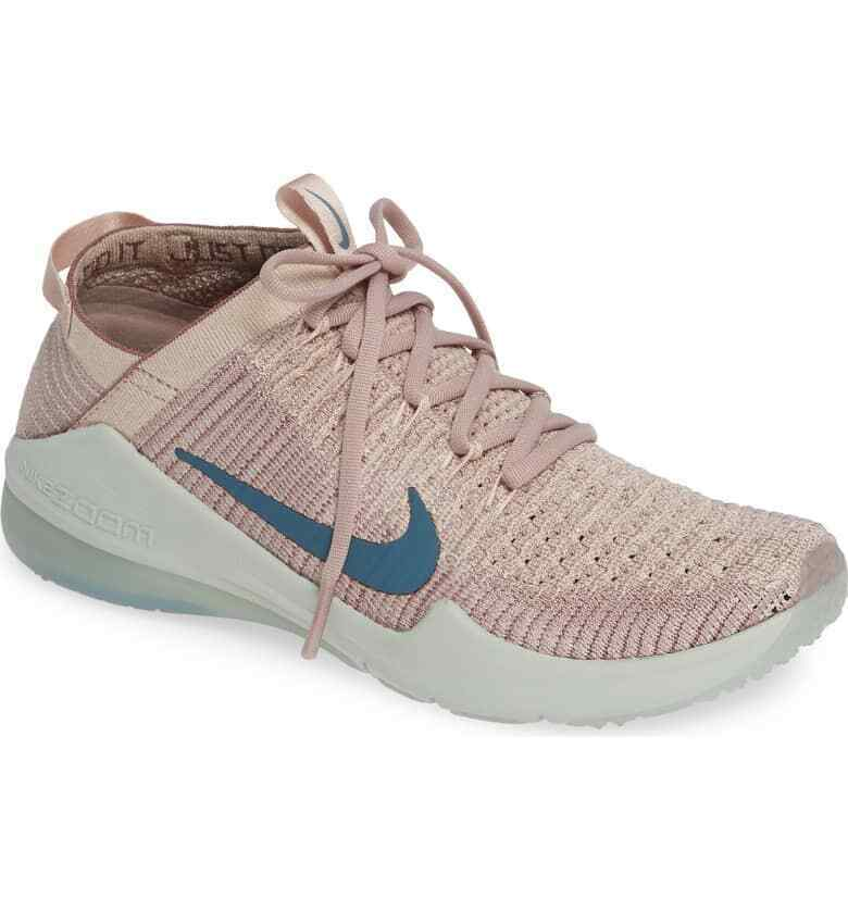 2018 Nib Damen Nike Luft Zoom Fearless Flyknit 2 Schuhe US 7 Partikel Beige