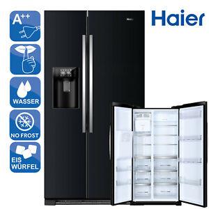 SidebySide Kühlschrank Kühl-Gefrierkombinatio A++ Haier HRF-630IB7 NoFrost LED