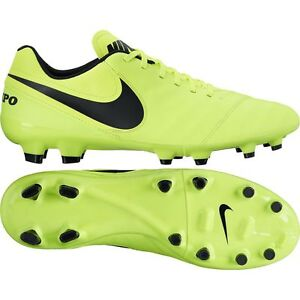 new styles a7bec b4752 Image is loading Nike-Tiempo-Genio-Leather-II-FG-Soccer-Shoes-
