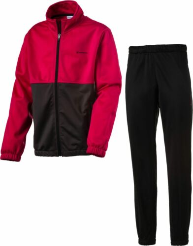 ENERGETICS Enfants Fitness Entraînement Costume Travis Trevor Rouge Noir