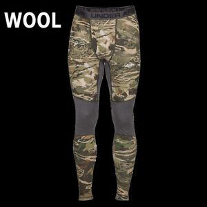 UNDER-ARMOUR-UA-REVERSIBLE-WOOL-BASE-LEGGINGS-HUNTING-CAMO-1297425-946-L-99