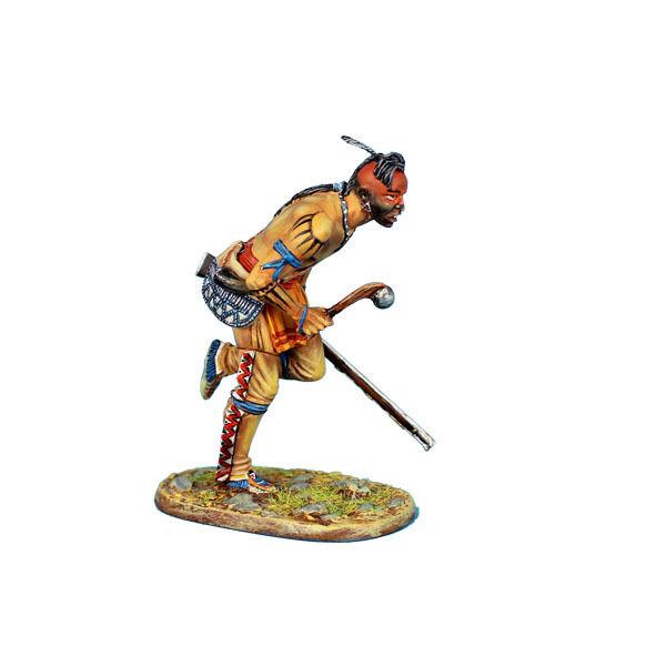 Los indios del bosque awi086 compiten con la primera Legión de malhechores y rifles.