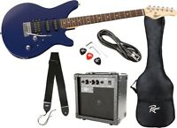 Rogue Rocketeer Electric Guitar Pack (Blue)
