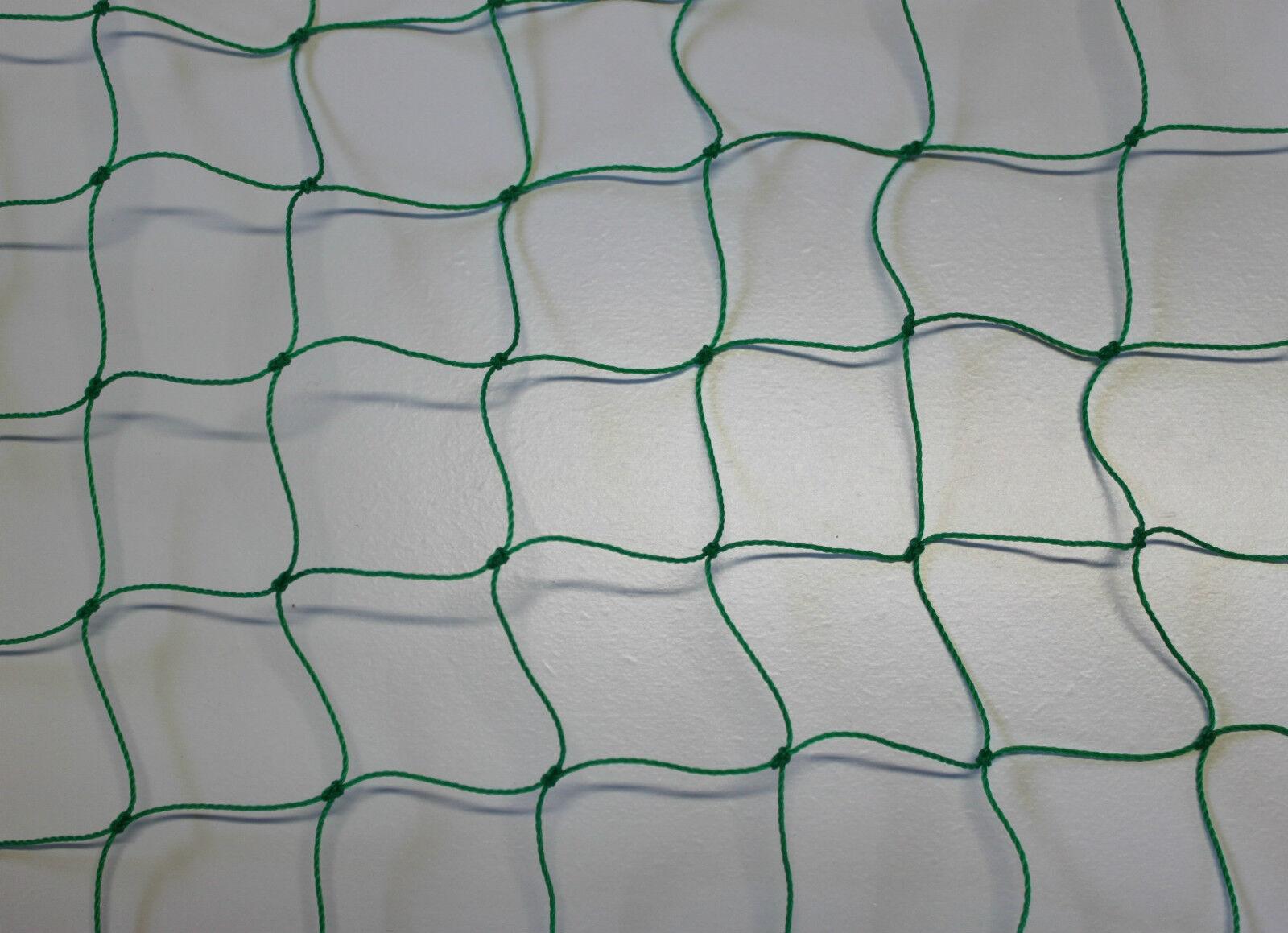 Ballnetz Meterware Höhe 5,00 m x 20,00 m grün grün grün Ballfangnetz Fußballnetz Netz 4d69b1