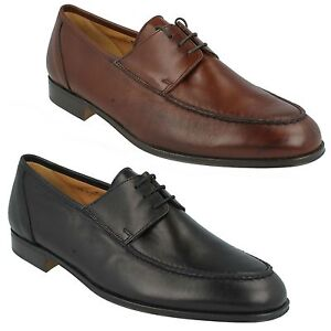Verona Hommes GRENSON Cuir Souple Smart Lacet Bout Rond Bureau Chaussures