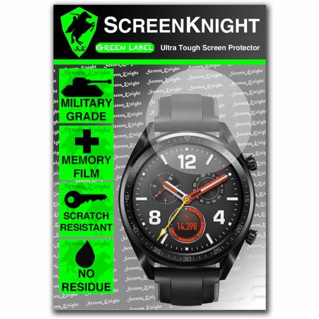 ScreenKnight Huawei Watch GT SCREEN PROTECTOR - Military Shield