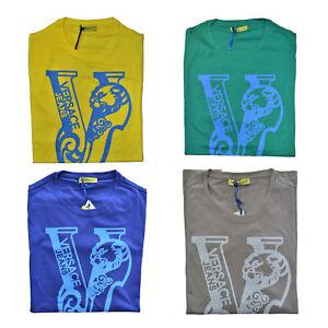 Maglia-Maglietta-T-Shirt-Girocollo-VERSACE-JEANS-T-Shirt-Crew-Neck-Uomo-Man-B3GF