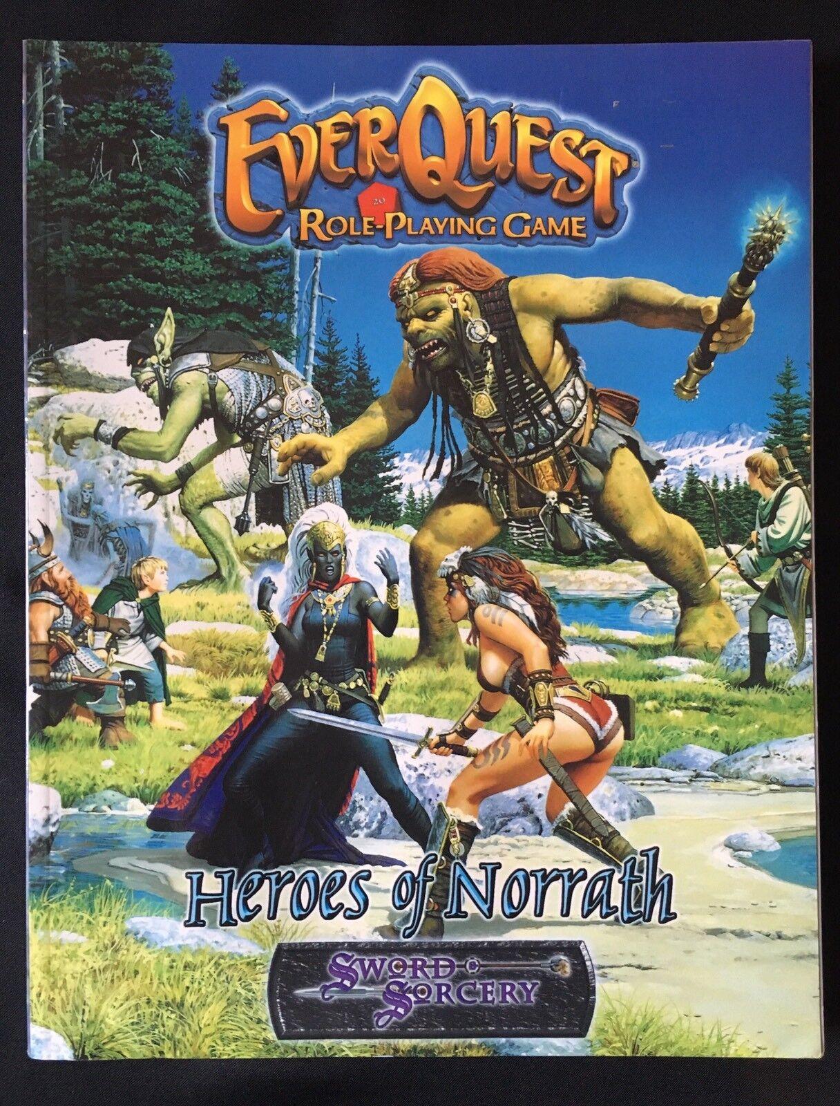 venta al por mayor barato Heroes Heroes Heroes OF NORRATH-Sword & Sorcery D&D Everquest - 3e de Juego de Rol de Fantasía  diseño único