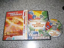 Transformers: The Ultimate Battle -- Optimus Prime vs Megatron (DVD) Animated