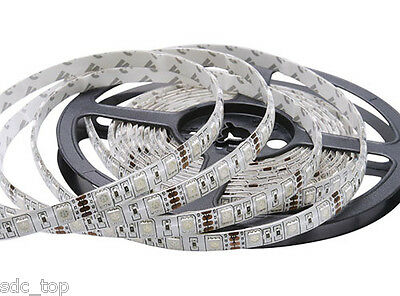 1m-30m SMD 5050 RGB 30/60 LEDs Strip Stripe Band Leiste Streifen Lichterkette