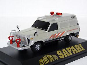 Aoshima-1-43-1981-Nissan-Safari-4WD-Seibu-Keisatsu-TV-Truck-Coldcast-Model-Car