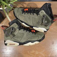 Size 8 - Jordan 6 Retro x Travis Scott Olive 2019