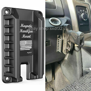 Invisible Gun Magnet Mount Quick Draw Loaded Concealed Gun Holder for Truck Car