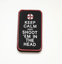 Morale Patch Special Ops Gear - KEEP CALM AND SHOOT 'EM IN THE HEAD - PVC