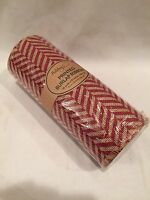 Printed Burlap Ribbon 10 Yards X 10 Inches Wide Roll (new)