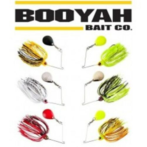 Booyah Micro Pond Magic Spinner Appât choix de couleurs 1//8 oz