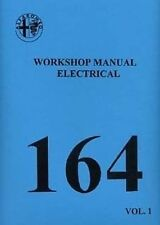 Alfa Romeo 164 3 Ltr. V6 Electrical shop manual Very large Paper Book Catalogue