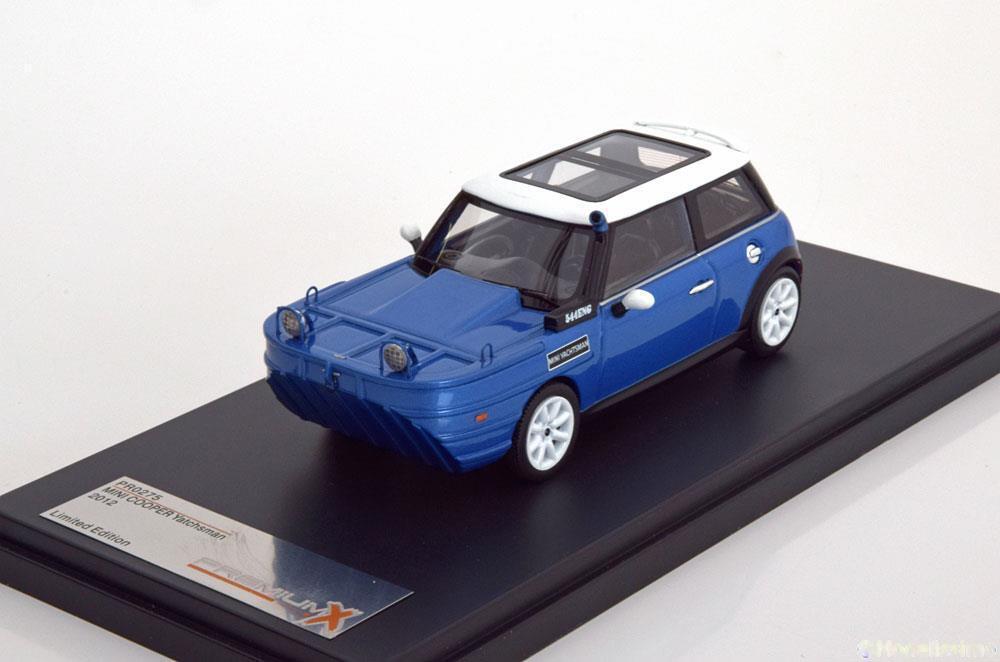 MINI COOPER S 2012 YACHTSMAN bleu METAL PREMIUM X PR0275 PR0275 PR0275 1 43 bleu BLEU RESINE 18ec4d