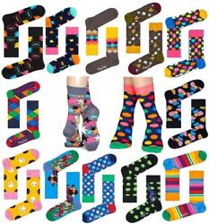 Happy Socks + SOXX bunte lustige Baumwollsocken Damen Herren Strümpfe gemustert