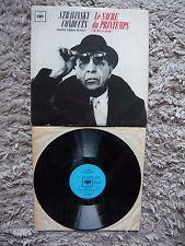 Igor Stravinsky Conducts Le Sacre Du Printemps Orig Mono UK CBS 1960 Vinyl LP
