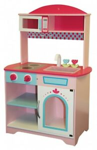 Wooden Kids Toy Small Kitchen Unit