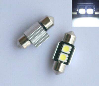 4x 31mm Xenon White LED Interior Car SMD Canbus Light Bulbs Error Free 269 C5W