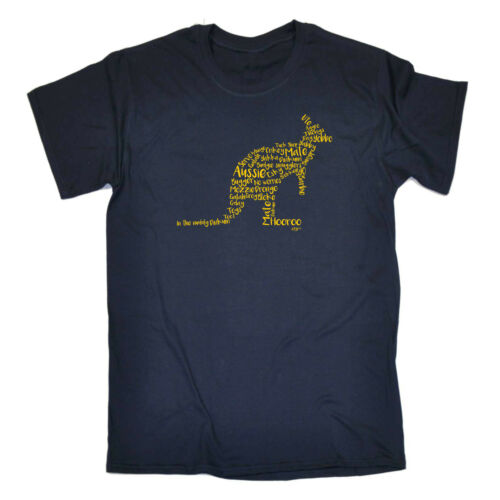 Drôle Enfants T-shirt Tee tshirt-Kangaroo argot Australie