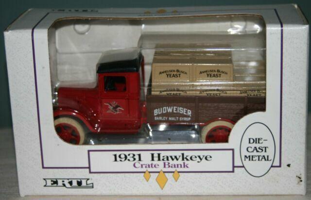 Ertl BUDWEISER Anheuser Busch 1931 Delivery  Truck Bank 1//34 Die-Cast