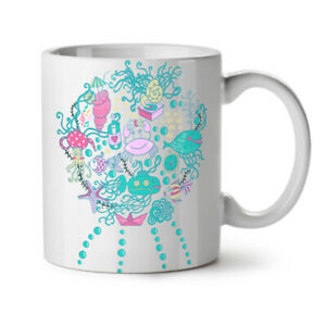 Sea Life Fish Cute NEW White Tea Coffee Mug 11 oz | Wellcoda