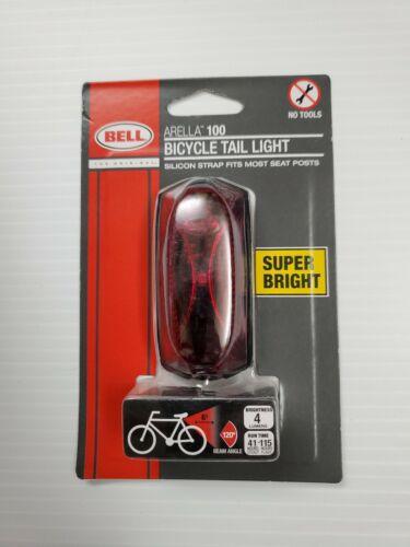 Bell ARELLA 100 Bike//Bicycle Tail LightRed//Super Bright NIB