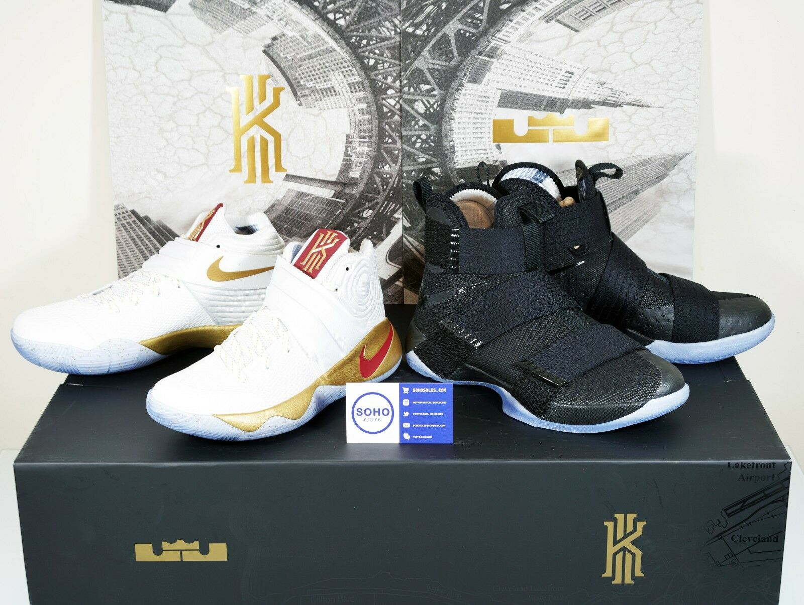 NIKE FOUR WINS - GAME 3 HOMECOMING CHAMPIONSHIP PACK - 8 9.5 10 10.5 11 12 13 7