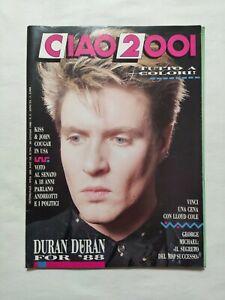 RARE-CIAO-2001-N-3-1988-POSTER-DURAN-DURAN-GEORGE-MICHAEL-KISS-JOHN-COUGAR