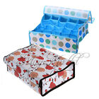 16 / 20 Cell Socks Underwear Ties Drawer Closet Organizer Storage Box Case