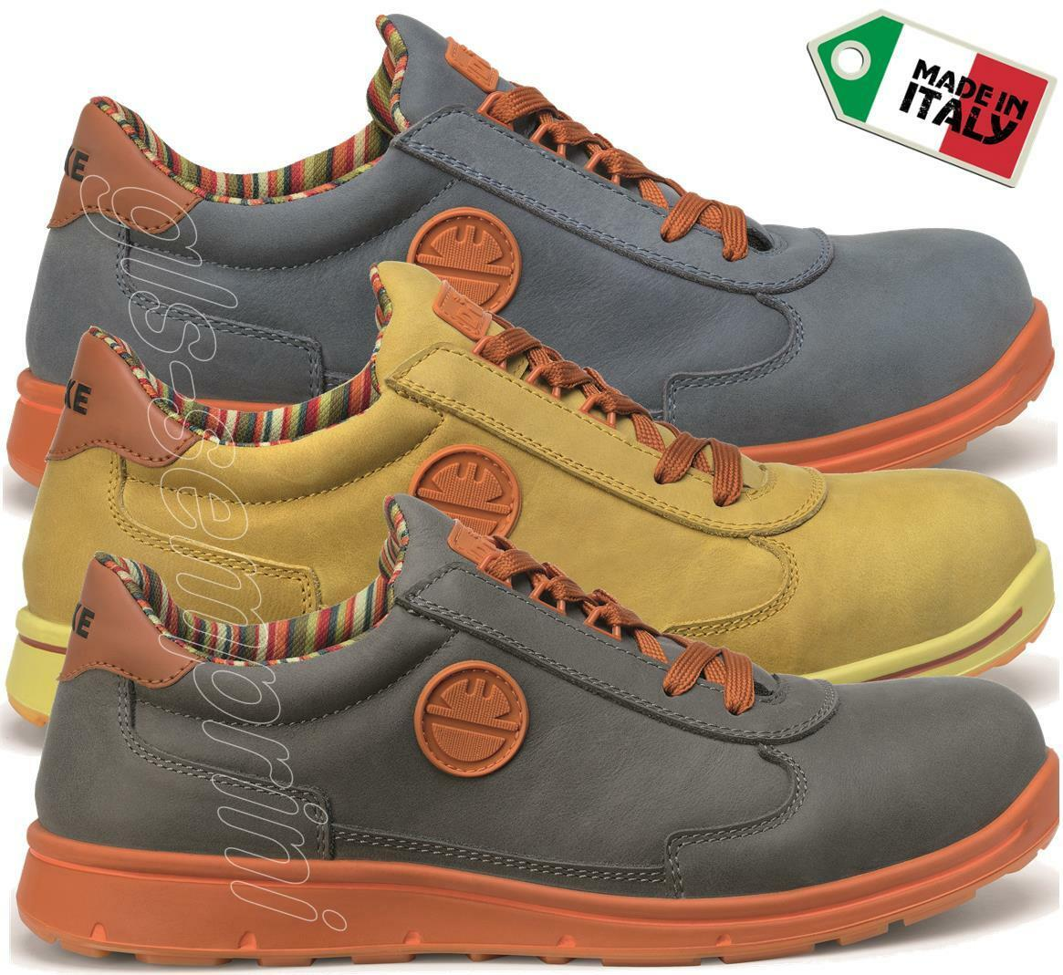 MENS LEATHER WORK WORK WORK SAFETY SHOES TRAINERS TOE CAP DIKE CYCLON CROSS S3 SRC 29012 964f67