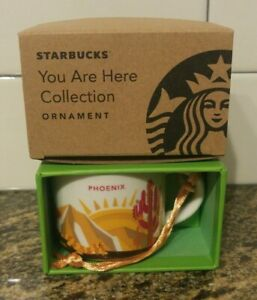 Starbucks Christmas Ornaments 2019.Details About Starbucks Phoenix Ornament 2019 Been There Series New In The Box Christmas